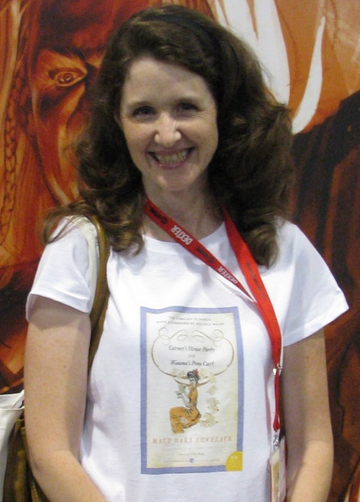 SDCC Pix: Maud Hart Lovelace Goes to Comic-Con