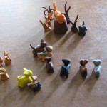 Warrior Cats in Sculpey
