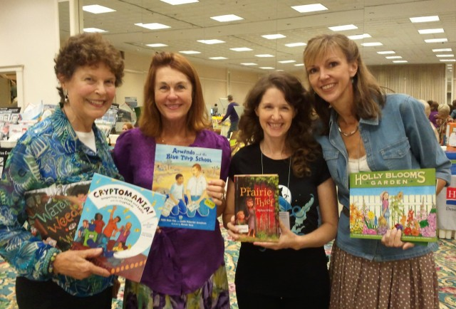 SCBWI authors at CRA
