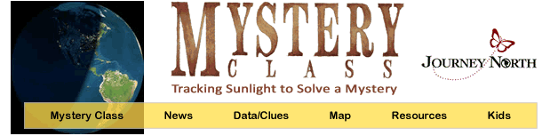 Journey North Mystery Class