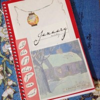 january notebook >> collage cover