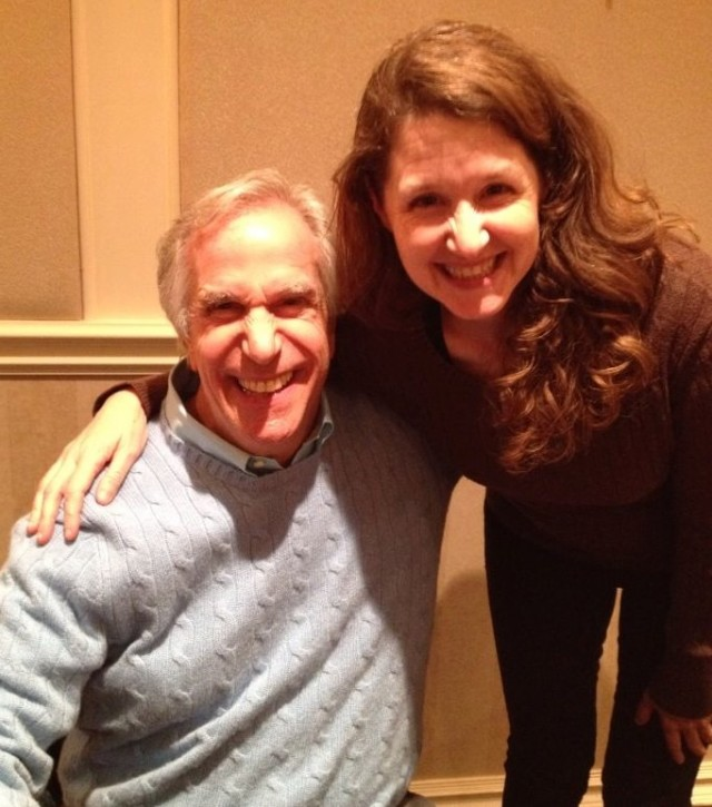 oh just me and Henry Winkler
