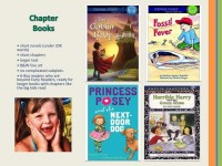 Photos from my SCBWI talk on middle-grade and chapter books