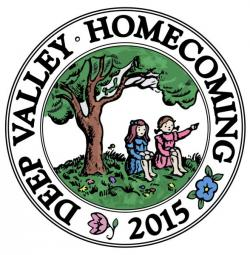 Deep Valley Homecoming badge