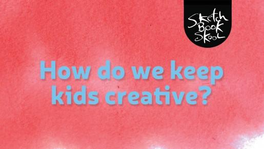 Sketchbook Skool Q&Art video interview