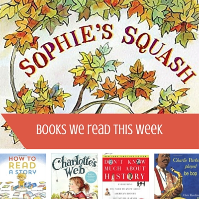 Books We Read This Week - Here in the Bonny Glen