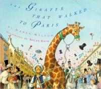 giraffe that walked to paris
