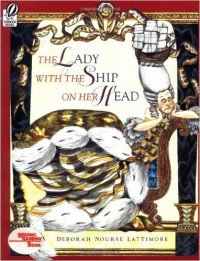 lady with ship on her head