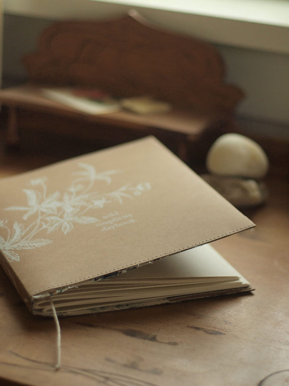 wild simplicity daybook cover at small meadow press