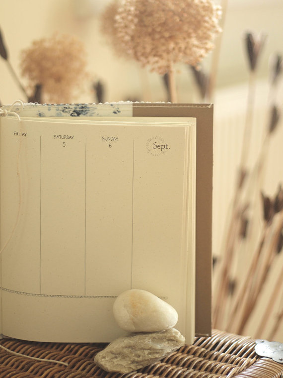 wild simplicity weekly calendar pages from small meadow press