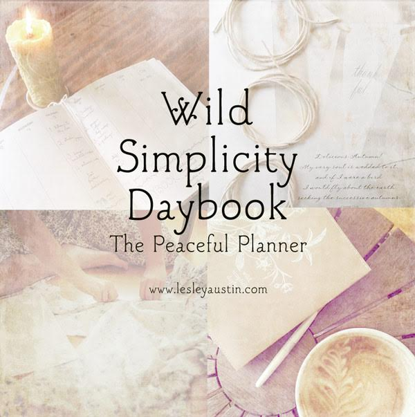 wild simplicity daybook by small meadow press