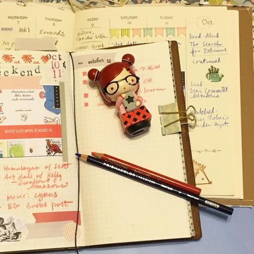 Midori TN and Wild Simplicity Daybook