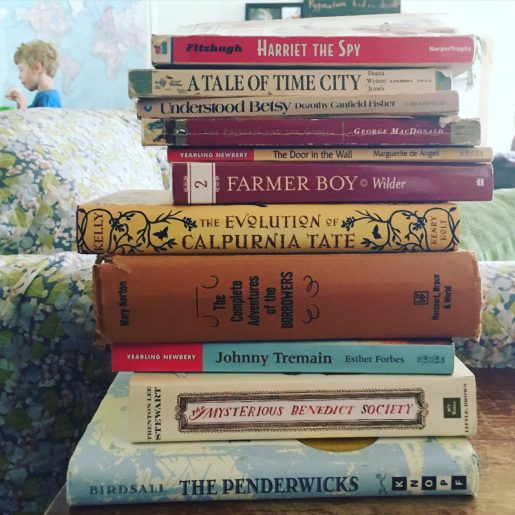 Read-aloud possibility pile