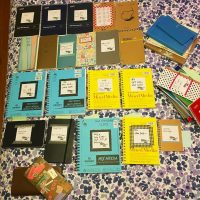 Notebooks, sketchbooks, and planners, oh my