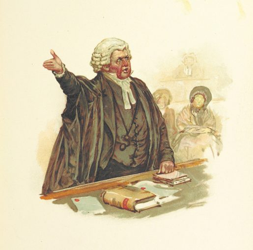 Image source: The British Library's public domain collection. Taken from page 109 of 'Pictures from Dickens with readings. With illustrations by H. M. Paget, Fred Barnard, etc.'