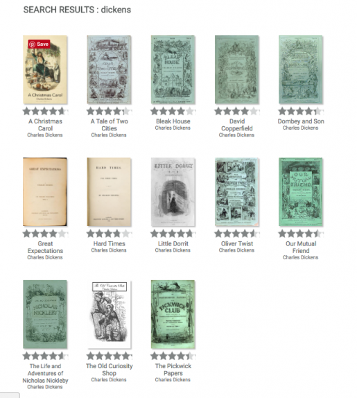 Dickens novels available in email installments via DailyLit