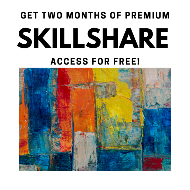 Get two months of premium Skillshare classes for free