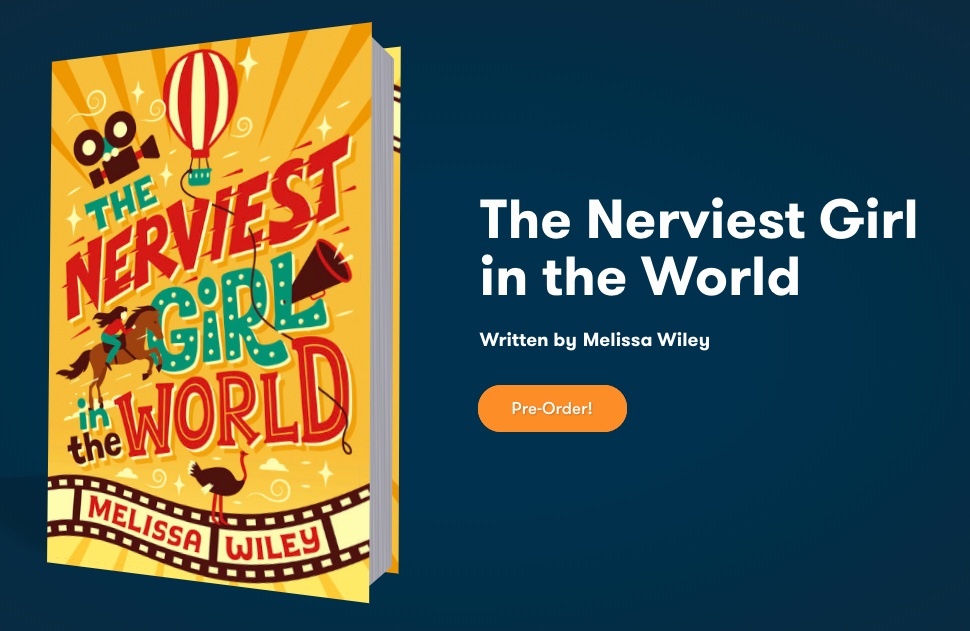 Preorder THE NERVIEST GIRL IN THE WORLD, coming August 2020