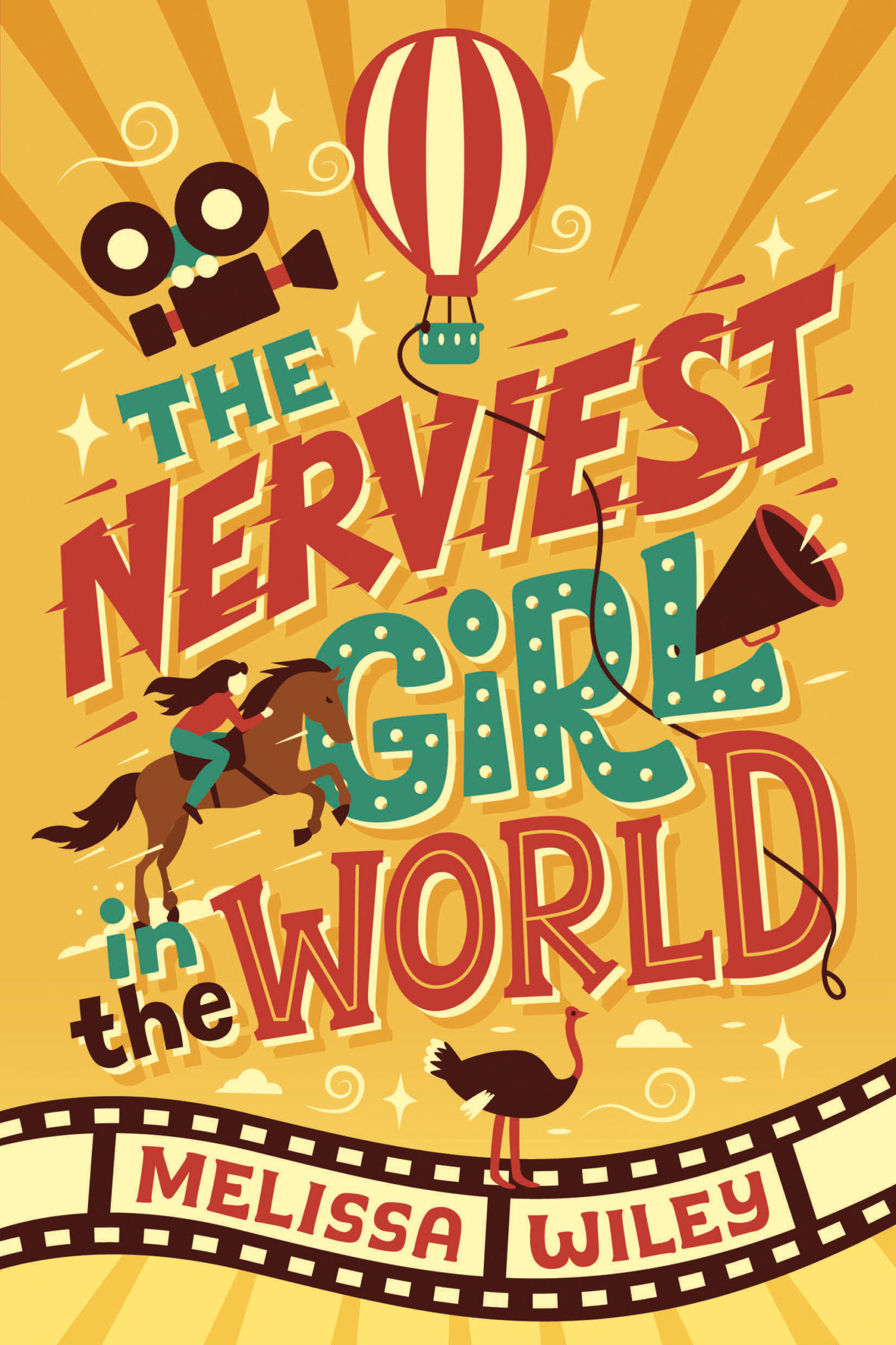The Nerviest Girl in the World—Cover Reveal!