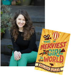 School Library Journal review of The Nerviest Girl in the World