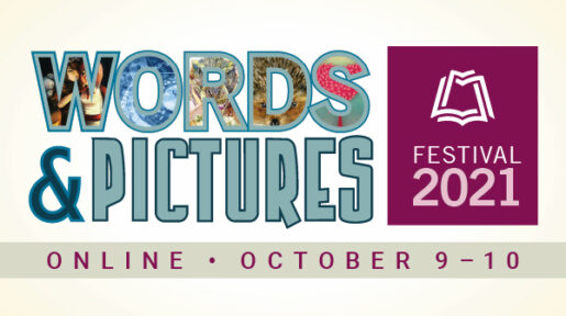 Logo for Fort Vancouver Regional Library Words & Pictures Festival 2021