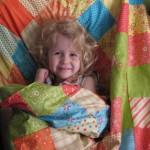 Weekend Quilting Project: Snuggleblanket