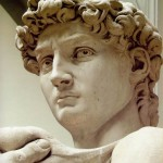 On Michelangelo's David