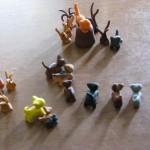 Warrior Cats in Sculpey