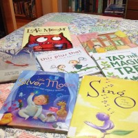 a pile of picture books