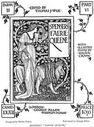 Faerie Queene illustration by Walter Crane