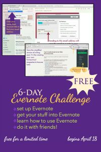 6-Day Evernote Challenge