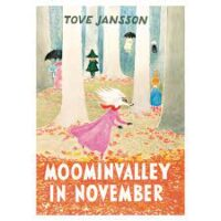 book cover of moominvalley in november by tove jansson